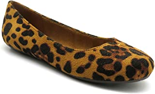US M Pierre Dumas Womens Hazel 7 Brown Croc Synthetic Casual 6 B