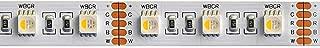 KingLed – 5M, 96W Tira LED Serie RGBW en un Único Chip – Luz Multicor y Blanco Frío– Tira LED Especial 18.1W/m 24V, Impermeable IP65. 12mm de ancho, 300 LEDs SMD 5050. Cod: 2958