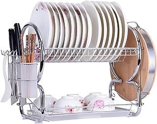 Rangement Cuisine, Égouttoir Drainers, égouttoir for la cuisine vaisselle, lave-vaisselle Drip Tray, propre Organisateur S...