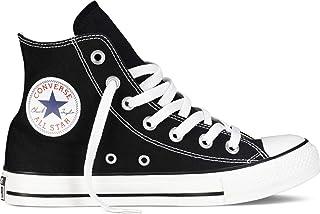 Converse Unisex Chuck Taylor All Star Hi Black Basketball Shoe 4.5 Men US / 6.5 Women US