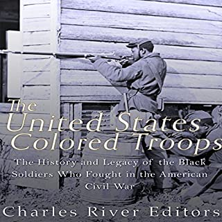 The United States Colored Troops audiobook cover art