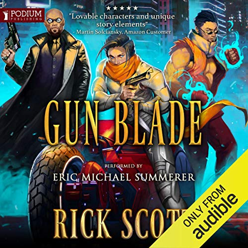 Gun Blade audiobook cover art