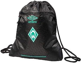 SV Werder Bremen Turnbeutel - Raute - schwarz Gym Bag, Sportbeutel, Rucksack - Plus Lesezeichen I Love Bremen