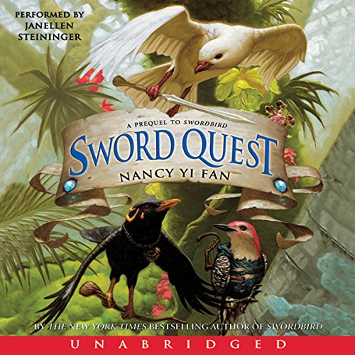 Sword Quest audiobook cover art