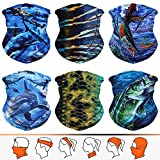 Headwear, Bandana, Neck Gaiter, Head Wrap, Headband for Men and Women, Multifunctional Head Scarf, Face Mask, Balaclava, Magic Scarf, Sweatband for Fishing, Yoga, Motorcycling
