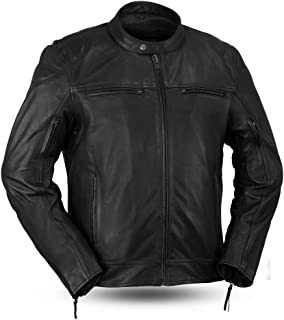 top grain leather jacket