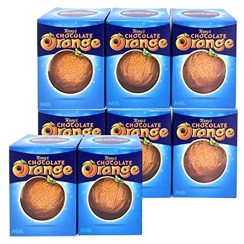 TERRY'Sテリーズ オレンジチョコレート ミルク 157g×8個セット