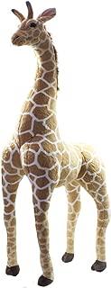 Girafa Realista Em Pé 128Cm - Pelúcia