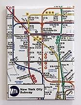New York City Subway Map Magnet 3.5x2.5