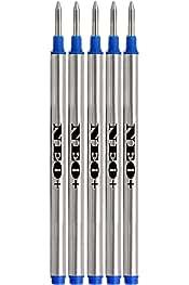 Recambios para bol/ígrafo de tinta negra con punta media de 0,7 mm 12 unidadesSon compatibles con Cross. de NEO+