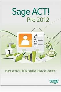 sage act pro 2012