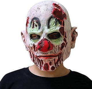 Adulto Uomo in plastica Sangue Splatter Teschio Scheletro Costume Halloween Maschera Nuovo