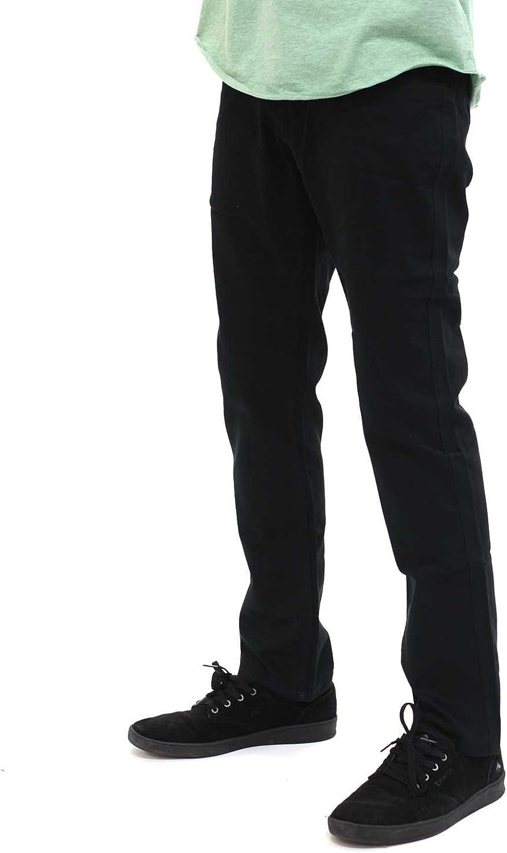 Brixton Men's San Jose Mall Reserve OFFicial Standard 5-Pocket Pants Fit