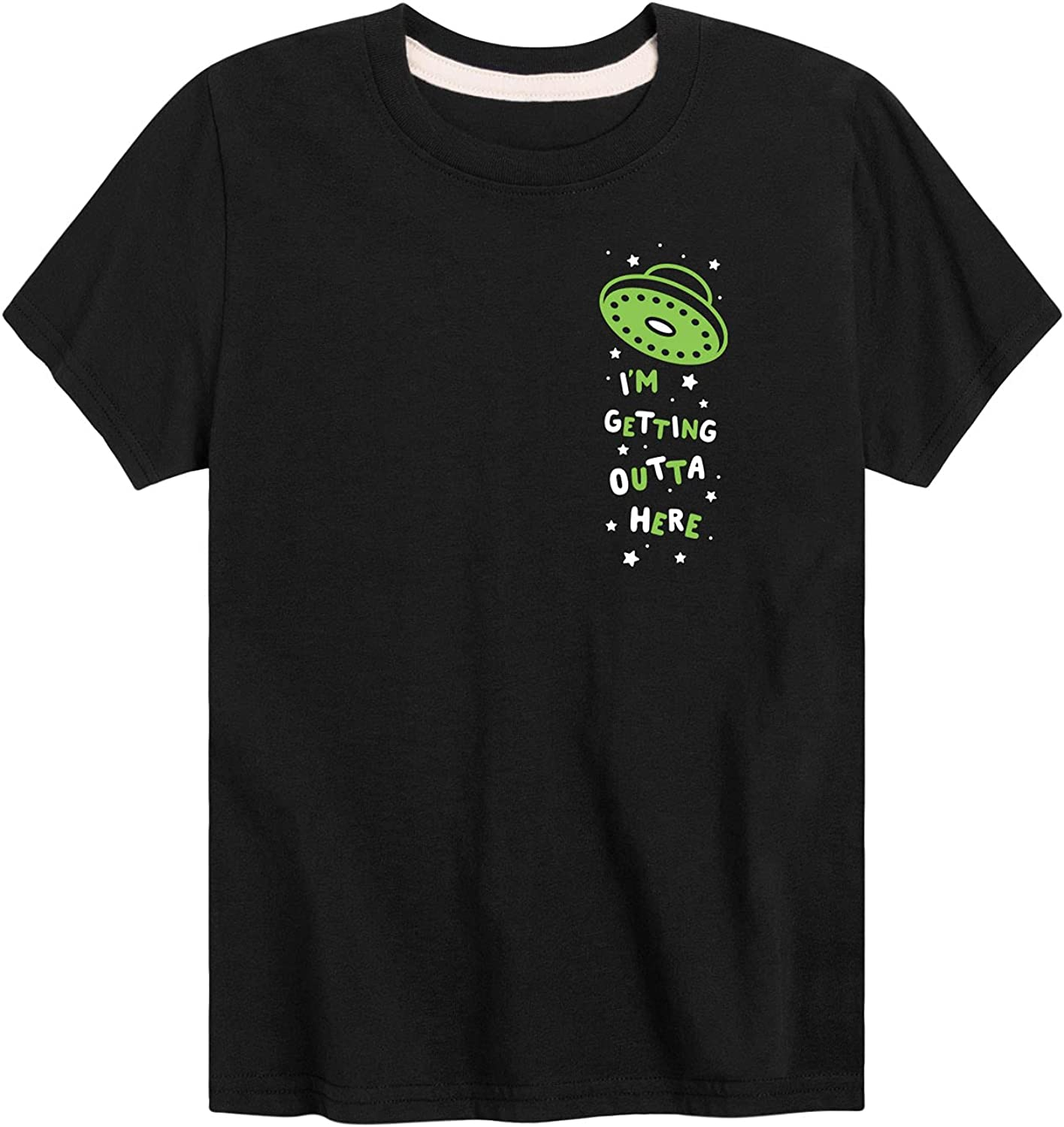 Instant Message I'm Getting Outta Here - Toddler and Youth Short Sleeve T-Shirt