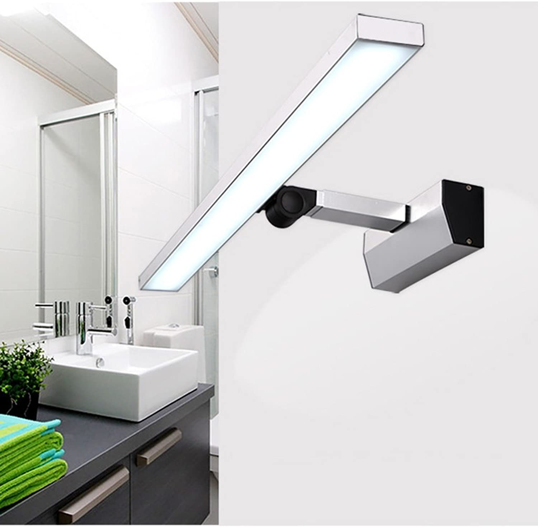 LED-Spiegel vorne Helle und moderne Badezimmer Spiegelschrank Beleuchtung Wandleuchte Make-up Light (Retractable) (Gre  46 cm)