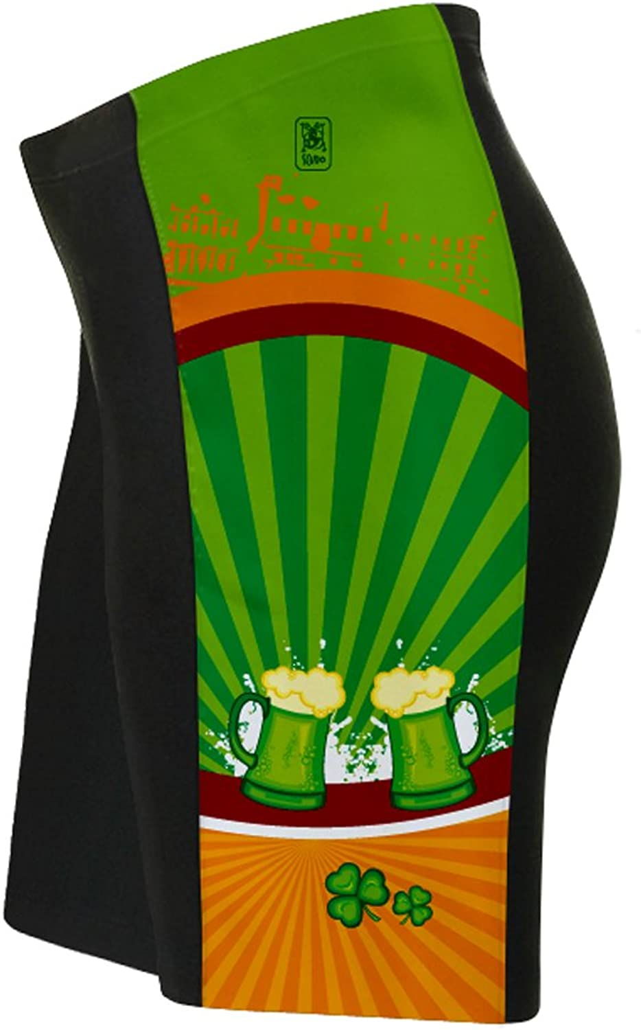St. Patrick's Day Lucky Goods Cycling Shorts for Women