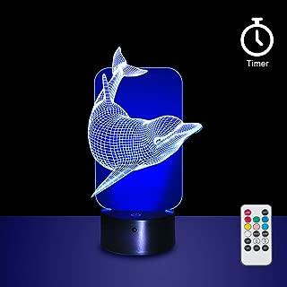 dolphin led night light
