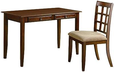 Amazon.com: Corona Mark Fairfax Home Office Desk/silla Set ...