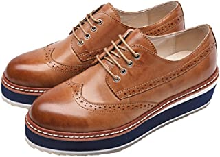 Women Oxford Leather Shoes E255