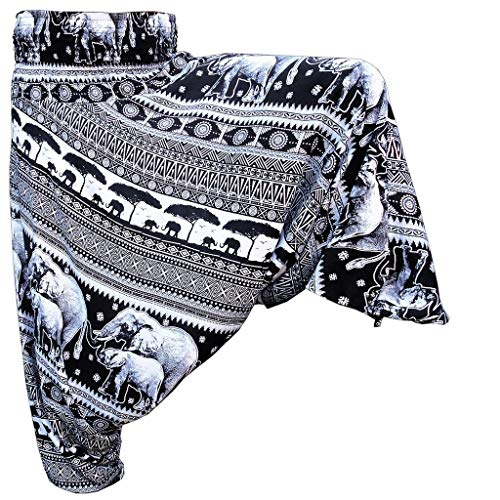 PANASIAM Aladin Pants, Chang v01, in schwarz