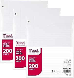 Best standard notebook paper Reviews