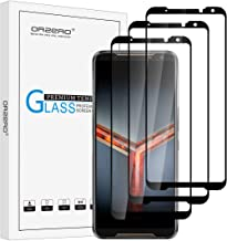 (3 Pack) Orzero Tempered Glass Screen Protector Compatible for ASUS ROG Phone 2, 2.5D Arc Edges 9 Hardness HD Anti-Scratch Full-Coverage (Lifetime Replacement)
