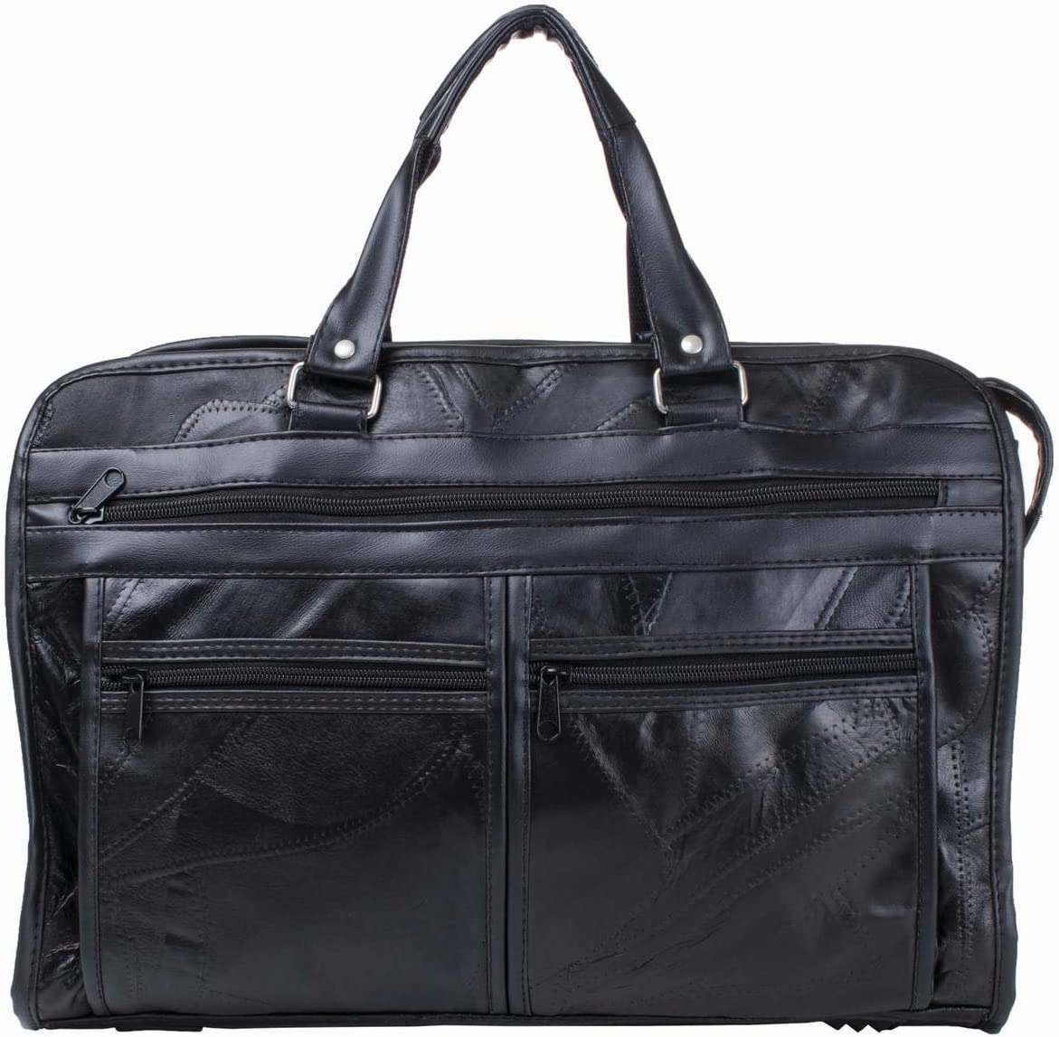 Maxam BCLBC Italian Sale Mosaic Design Leather Briefcase Bl Inch 16 Cheap bargain