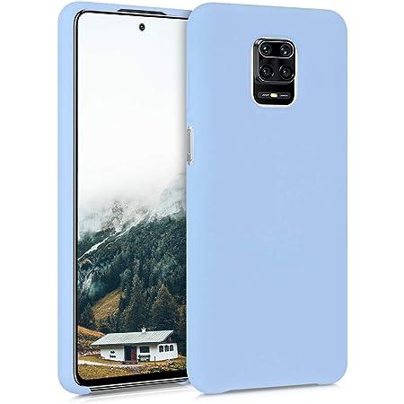Carcasa de TPU y Sol hind/ú en Azul//Rosa Fucsia//Transparente 9 Pro 9 Pro MAX kwmobile Funda Compatible con Xiaomi Redmi Note 9S