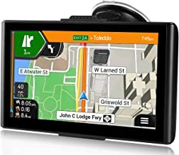 Sat Nav,7 Inch GPS Navigation for Cars Truck Lorry, Includes