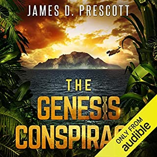 The Genesis Conspiracy audiobook cover art