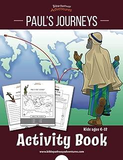 Paul's Journeys Activity Book