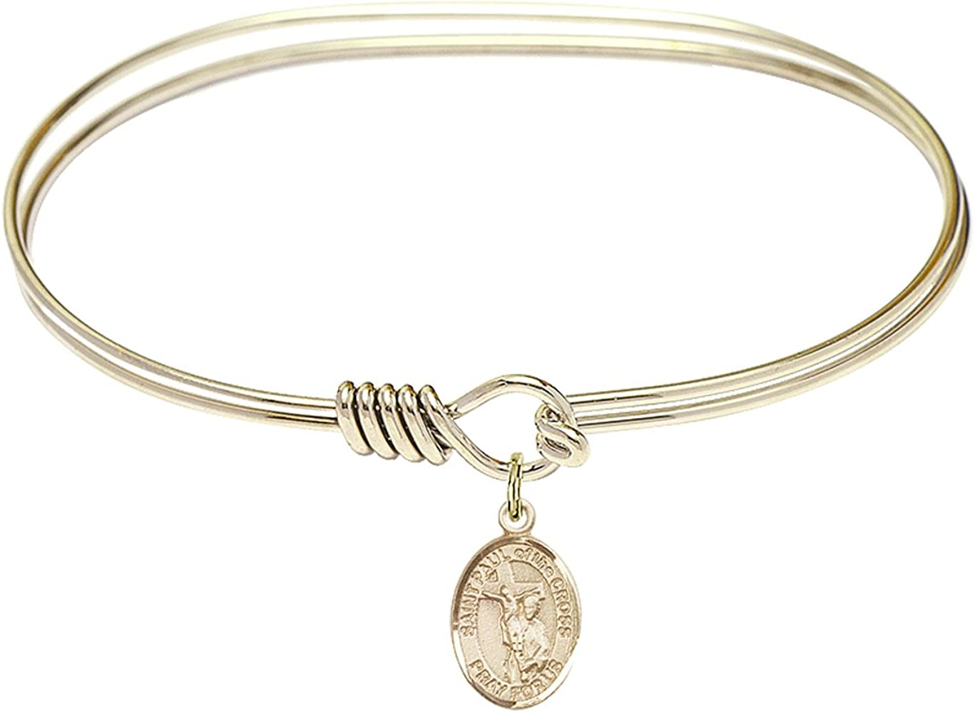 DiamondJewelryNY Eye Hook Bangle Bracelet with of a Paul Bombing free Max 76% OFF shipping The St.