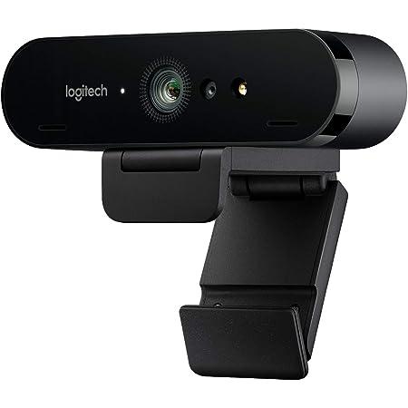 Logitech Brio Stream Webcam per Streaming Ultra HD 4K Veloce a 1080p/60fps, Campo Visivo Regolabile, Funziona con Skype, Zoom, Xsplit, Youtube, PC/Xbox/Mac, Nero