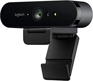 Logitech Brio Stream Webcam, Ultra HD 4K Streaming Edition, 1080p/60fps Hyper-Fast Streaming, Wide Adjustable Field of Vie...