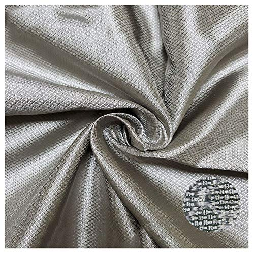 PHBSF 100% Silberfaser EMF Schutzgewebe, Faraday Gewebe, Leitfähiges Gewebe, Strahlenschutz, Schützen Sie Den Körper Vor Strahlenschäden(Size:1.5x3m)