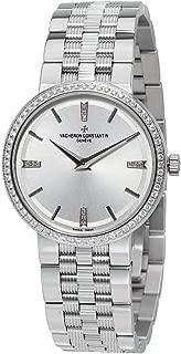 Traditionnelle Silvered Dial Quartz Ladies Watch 25557/Q01G-9276