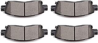 SCITOO セラミックディスクブレーキパッド 4ピース リアディスクブレーキパッドキット ビュイックエンクレーブ/レイニア、シボレーSSR/トレイルブレイザー/トレイルブレイザーEXT/Trailblazer、GMC アカディア/エンボイXL...