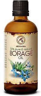 Borage Seed Oil 100 ml - 100% Pure & Natural - Borago