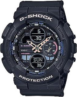 Ladies' Casio G-Shock S-Series Black Resin Band Watch GMAS140-1A