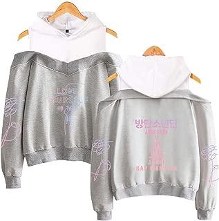 BTS Love Yourself Logo Sweater Hoodie Sweatshirt for Womens