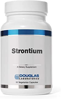 Douglas Laboratories - Strontium - Trace Minerals to Support Healthy Bone Density - 90 Capsules