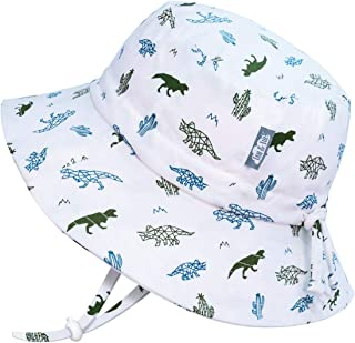 JAN & JUL GRO-with-Me Kids' Cotton Bucket Sun-Hats with 50+ UPF Protection Baby Toddler Kids