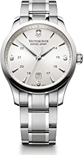 Victorinox Alliance Silver Dial Stainless Steel Mens Watch 241476XG (Renewed)