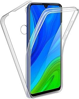 Reshias Funda para Huawei P Smart 2020, 360°Full Body Protección Suave TPU Silicona Delantero PC Dura Atrás Transparente F...