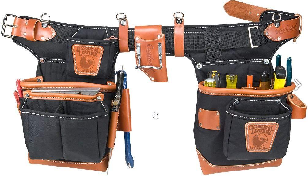 Occidental Leather 9850 Adjust-to-Fit Fat Lip Tool Bag Set