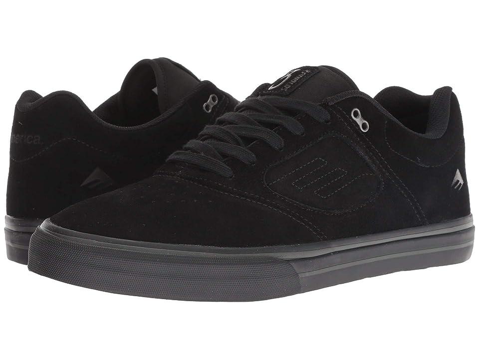 Emerica Reynolds 3 G6 Vulc (Black/Black) Men