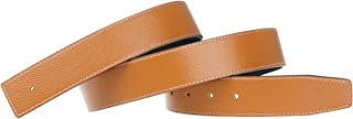 Replacement Leather Belt Strap Reversible Replacement Belt Strap Genuine Leather 1 1/2inch Wide - for Hermes