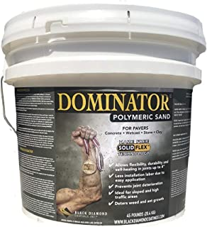 45 Pound, Natural Joint Stabilizing for Pavers, DOMINATOR Polymeric Sand with Revolutionary Solid Flex