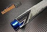 1m Alu-Titan Hitzeschutzschlauch ID 10mm Klettverschluss *** Heat Sleeve Thermoschutz Isolierschlauch Kabelschutz