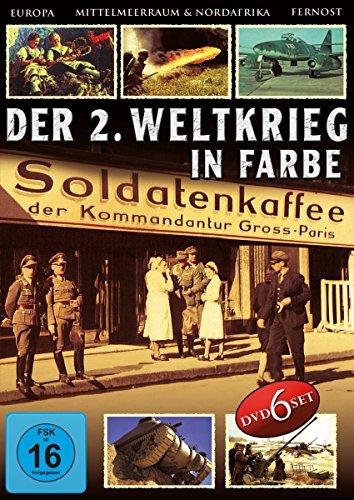 Der 2. Weltkrieg in Farbe - Deluxe Edition (6 DVDs)